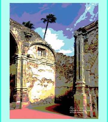 The Mission at  San Juan Capistrano